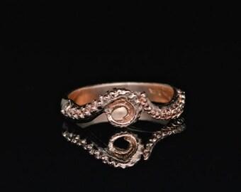 Octopus Ring, Tentacle Ring,Wedding Band, 14K Tentacle Ring, gold Octopus Ring, Octopus Ring