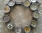 NOBODY Puts BABY in the CORNER - Dirty Dancing Movie Inspired Antique Typewriter Key Bracelet