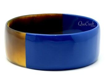 Horn & Lacquer Bangle Bracelet - Q11411-N