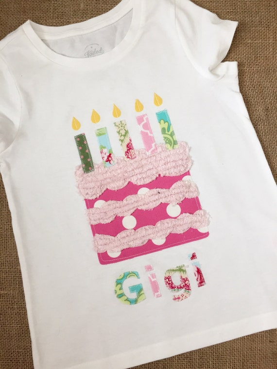 It's my Birthday with Personalized Name Shirt - Size 3 months to 12 years by Green Apple Boutique