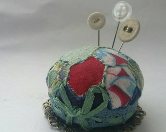 Patchwork Miniature Pincushion