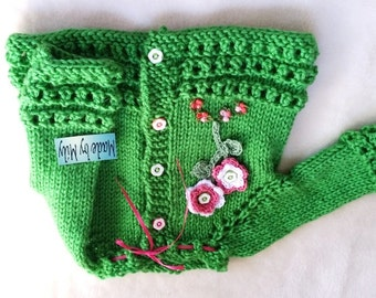 FALL SALE Cute baby girls cardigan/sweaters beautiful combination of colors 0-6 months