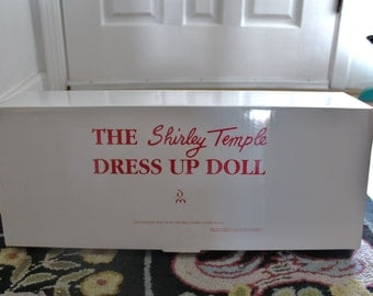 The Shirley Temple Dress Up Doll.. never removed from box
