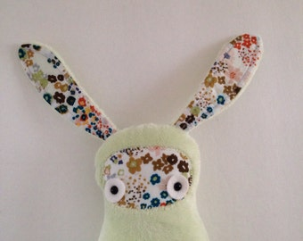 Floppy Eared Bunny - Pale Green