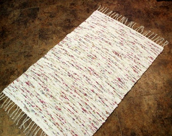 SOFTY Woven Rag Throw Rug 142