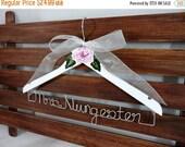 20% OFF SALE Wedding Dress Hangers Bridal Hanger Bridal by OriginalBridalHanger