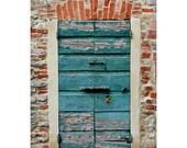 Rustic Wooden Door Italy, Castiglione del Lago Umbria