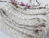Linen Bedspread Queen Sized - RESERVED