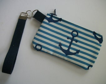 Anchor Detachable Wrist Strap purse