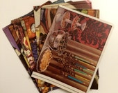 Passport Holder- Vintage Meats and Candies Cookbook- Choose 1