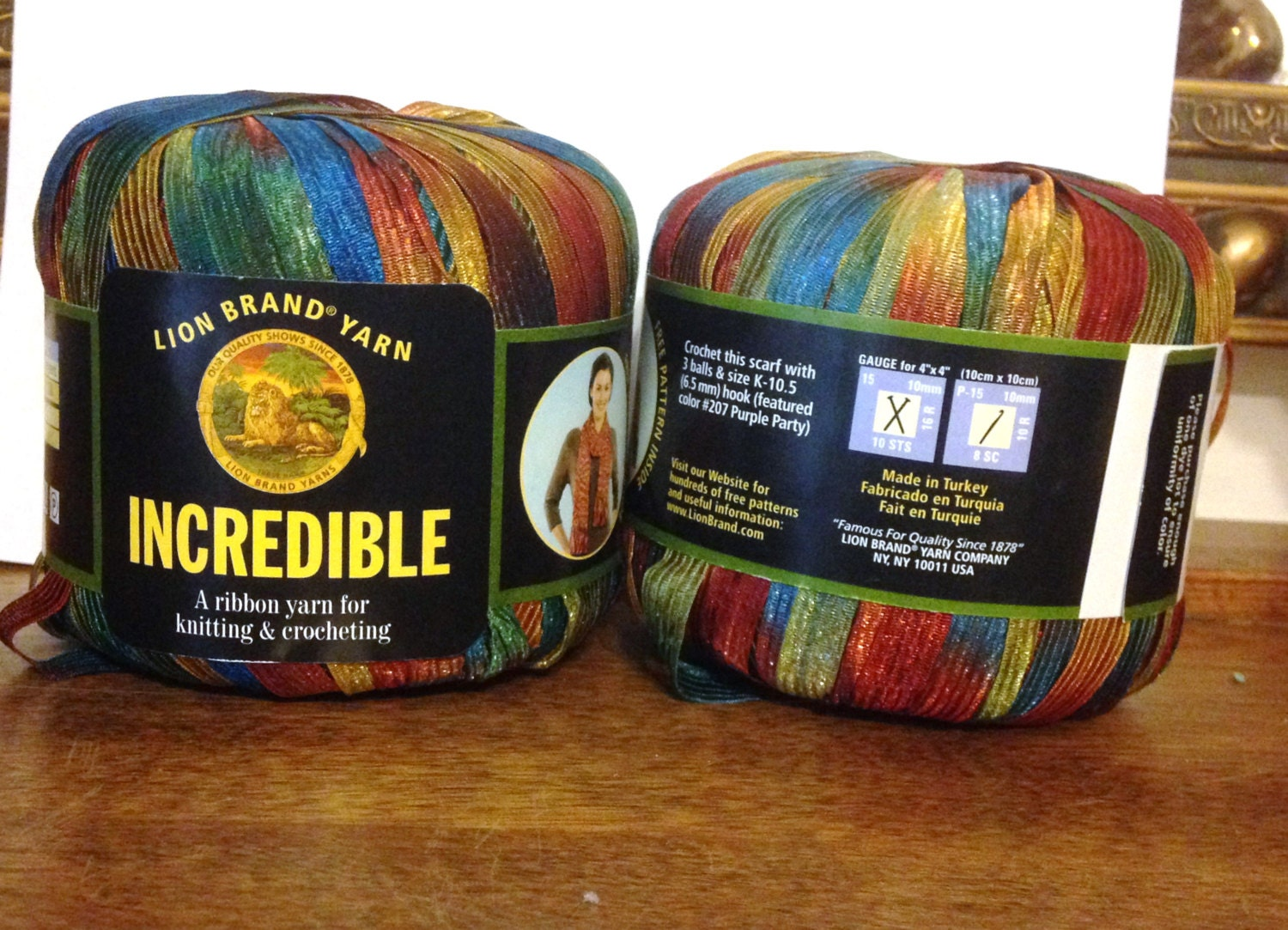 Incredible ribbon yarn copper penny ribbon yarn two skeins - Incredible uses for copper pennies ...
