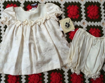 Baby Dress and Bloomers 6/9 Months