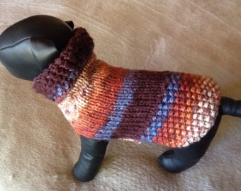 Autumn Chihuahua Sweater.