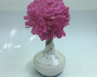 handmade raku vase/decorative/ flower vase/ dry flower arrangements/ in stock