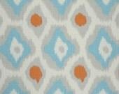 """MASSIVE FABRIC CLEARANCE Premier Prints Adrian Mandarin/Dossett 56"""" W x 1yd 16""""L"""