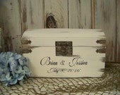 Card Box, Beach Wedding, Shabby Chic Card Box, Slotted Card Box, Rustic Card Box, Card Holder, Wedding Decoration,