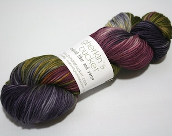 hand dyed yarn - Simple SW DK - Motley colorway (dyelot 81716)