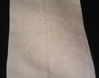 Ecru Linen Guest Towel