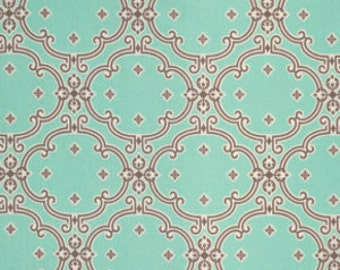 SALE fabric, Birch Farm Fabric, Cotton fabric by the Yard by Joel Dewberry for Free Spirit- Dutch Oven in Egg Blue, Fat Quarter to Yardage
