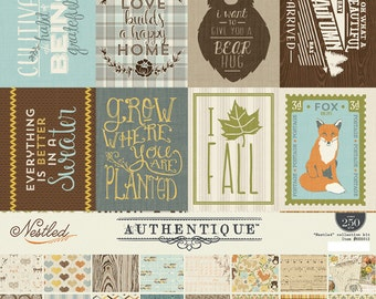Authentique Nestled 12x12 Collection Kit