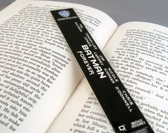 Batman Recycled VHS Bookmark