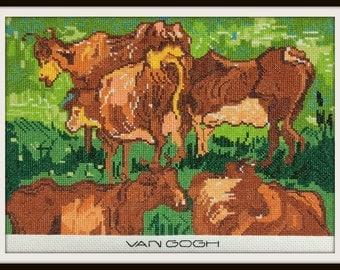Van Gogh's COWS--LB16306