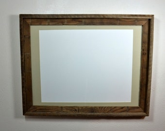 18x24 rustic wood picture or poster frame