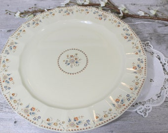 Mikasa Platter,  Country English •  JM907, Serving Plate, Holiday Dishes, LARGE round Plate