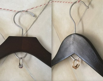 Jewelry Hook™ Add-on Ring Display Wedding Hanger Bridal Hanger