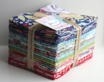 SALE 21 Fat Quarters INTO THE Garden fabric Riley Blake Designs by Amanda Herring