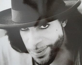 "1990 Graffiti Bridge Production Photograph, Black & White Photo, ""Prince"" Musical Drama, Photo by Jeff Katz"