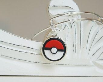 Pokeball Pokemon Adjustable Bangle Bracelet - Style #17