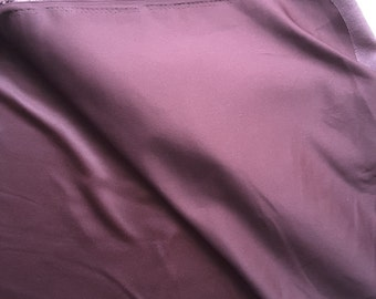 Plum Moleskin Fabric