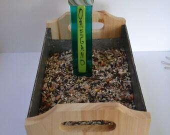 Oregano Herb Garden Stake, Gardener, Gift Plant Stake, Garden Stake