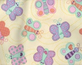 2 yards uncut Babyville Polyurethane laminate ( PUL ) fabric (out of print)