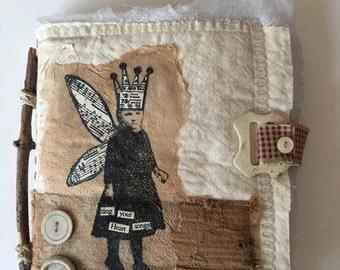 Handmade fabric book....sing