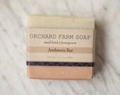 Ambrosia Soap//Natural Soap//Homegrown Botanicals