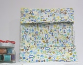 Extra Large Bag w/ window Tote Bag Nursery Pouch Baby Travel Diaper Bag