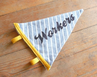 Workers Pennant