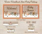Winter Woodland Animal Mi...