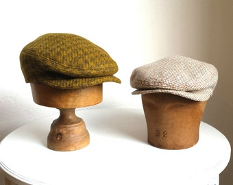 Men's Driving Cap - Made to Order - Custom Flat Cap - Choose Your Own Wool - 3 WEEKS FOR SHIPPING