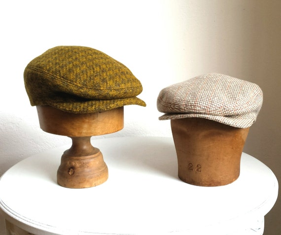 Men's Driving Cap - Made to Order - Custom Flat Cap - Choose Your Own Wool