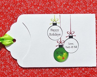 Holiday Party Favors | Christmas Party Favors | Lottery Ticket Favors | Holiday Gift Card | Christmas Lotto Favor | Holiday Guest Favors
