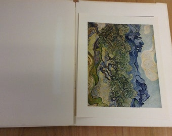 1952 Abrams Art Book with 14 VAN GOGH  full color prints