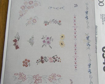 Vintage McCall's Embroidery Craft Package, Uncut