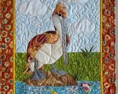 Pelican Applique Quilt Wallhanging Pattern