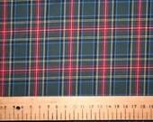 Princess Mary style tartan cotton fabric 0.50 metre