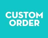 English Bulldog - Custom Order for SAMMY00