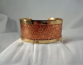 Copper and Brass Cuff Bracelet (CCB250)