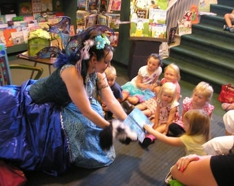 FAIRY FLY BY Birthday Party Visit Celebration, Favors, Bloomday, Kids